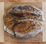 Caraway seed sourdough with Rye and Spelt flour
